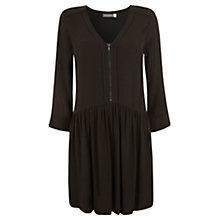 Buy Mint Velvet Trapeze Dress, Green Online at johnlewis.com