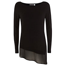 Buy Mint Velvet Asymmetric Hem Knit Top Online at johnlewis.com