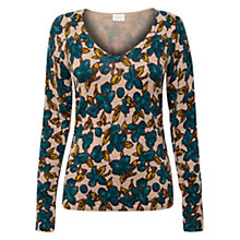 Buy East Viceroy Print Jumper, Pebble Online at johnlewis.com