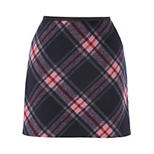 Buy Oasis Plaid Mini Skirt, Multi Online at johnlewis.com