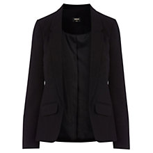 Buy Oasis Textured Jacket, Black Online at johnlewis.com