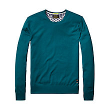 Buy Scotch & Soda Classic Melange Crew Neck Jumper Online at johnlewis.com