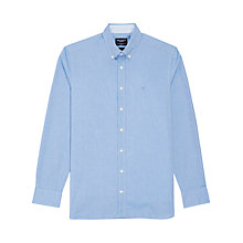 Buy Hackett London Pinpoint Long Sleeve Shirt Online at johnlewis.com