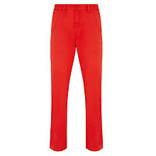 Buy Gant Soho Prep Chinos, Red Online at johnlewis.com