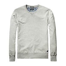 Buy Scotch & Soda Garment Dye Crew Neck Jumper Online at johnlewis.com
