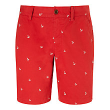 Buy Gant Anchor Print Cotton Shorts Online at johnlewis.com
