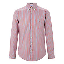 Buy Gant Point Sure Striped Poplin Shirt Online at johnlewis.com