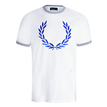 Buy Fred Perry Laurel Wreath T-Shirt Online at johnlewis.com