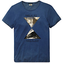 Buy Scotch & Soda Dot Print T-Shirt, China Blue Online at johnlewis.com
