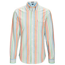 Buy Gant Malibu Madras Stripe Shirt, Multi Online at johnlewis.com