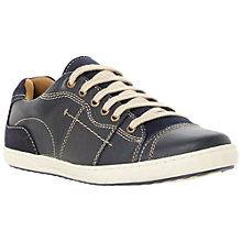 Buy Dune Tanker Leather Trainers Online at johnlewis.com