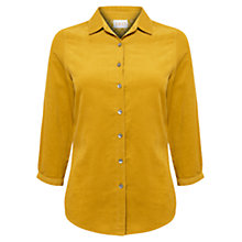 Buy East Babycord Shirt, Ochre Online at johnlewis.com
