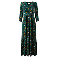 Buy East Romani Print Dress, Lagoon Online at johnlewis.com