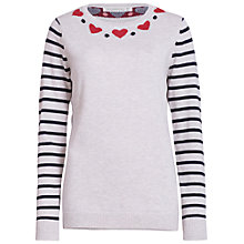 Buy Sugarhill Boutique Folk Heart Jumper Online at johnlewis.com