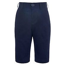 Buy John Lewis Heirloom Collection Boys' Linen Blend Chino Shorts, Navy Online at johnlewis.com