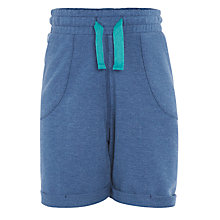 Buy Kin by John Lewis Boys' Marled Sweat Shorts, Blue Online at johnlewis.com