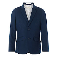 Buy John Lewis Heirloom Collection Boys' Linen-Blend Jacket, Navy Online at johnlewis.com