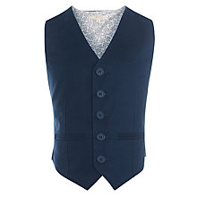 Buy John Lewis Heirloom Collection Boys' Linen Blend Waistcoat Online at johnlewis.com