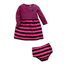 Buy Polo Ralph Lauren Baby Long Sleeve Stripe Dress Online at johnlewis.com