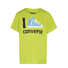 Buy Converse Boys' Chuck Taylor Trainer Print T-Shirt Online at johnlewis.com