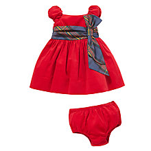 Buy Polo Ralph Lauren Baby's Dress Two-Piece, Red Online at johnlewis.com
