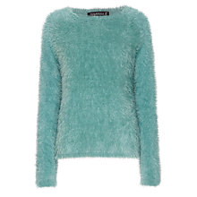 Buy Sugarhill Boutique Fluffy Sweater, Green Online at johnlewis.com