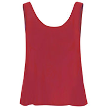 Buy True Decadence Vest Top, Burgundy Online at johnlewis.com