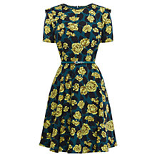 Buy Oasis Falling Petal Skater Dress, Multi Online at johnlewis.com