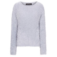 Buy Sugarhill Boutique Fluffy Jumper, Lilac Grey Online at johnlewis.com