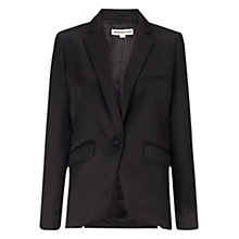Buy Whistles Tuxedo Jacket, Black Online at johnlewis.com