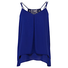 Buy Coast Bailey Cami Top, Blue Online at johnlewis.com