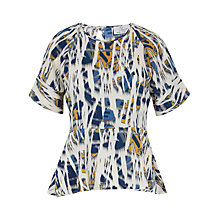 Buy Closet Abstract Print Top, Multi Online at johnlewis.com