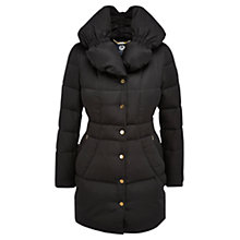 Buy Viyella Quilted Parka Coat, Black Online at johnlewis.com