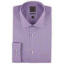 Buy CK Calvin Klein Micro Check Shirt, Iris Online at johnlewis.com