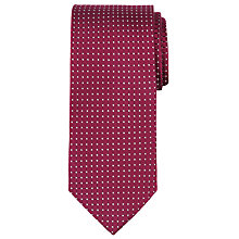 Buy CK Calvin Klein Geo Square Silk Tie Online at johnlewis.com