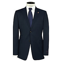 Buy Ted Baker Sterling Semi Plain Wool Suit Jacket, Navy Online at johnlewis.com