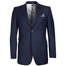Buy Ted Baker Garjak Sterling Wool Suit Jacket, Navy Online at johnlewis.com