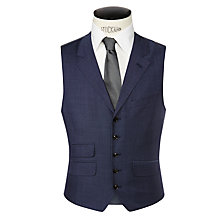 Buy Ted Baker Doltway Sterling Wool Suit Waistcoat, Cornflower Online at johnlewis.com