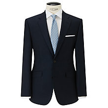 Buy John Lewis Wool and Linen Suit Jacket, Navy Online at johnlewis.com