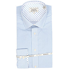 Buy Ted Baker Endurance Timeless Mini Geo Print Shirt, Blue Online at johnlewis.com
