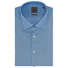Buy CK Calvin Klein Cannes Tile Print Shirt, Blue Ocean Online at johnlewis.com