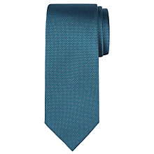 Buy CK Calvin Klein Semi Plain Dash Silk Tie Online at johnlewis.com