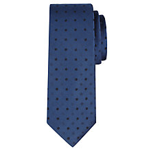 Buy CK Calvin Klein Tonal Spot Silk Tie Online at johnlewis.com