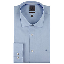 Buy CK Calvin Klein Semi Plain Shirt, Light Blue Online at johnlewis.com