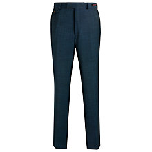 Buy Ted Baker Endurance Dolttro Sterling Wool Suit Trousers, Teal Online at johnlewis.com