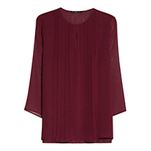 Buy Mango Pleat Detail Blouse Online at johnlewis.com