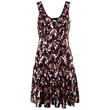 Buy Miss Selfridge Premium Collection Ruby Fit And Flare Dress, Multi Online at johnlewis.com