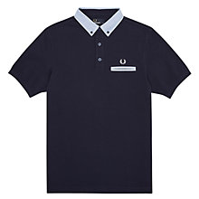 Buy Fred Perry Contrast Trim Polo Shirt Online at johnlewis.com