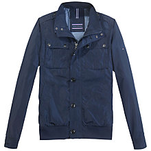 Buy Tommy Hilfiger Nate Bomber Jacket, Navy Online at johnlewis.com