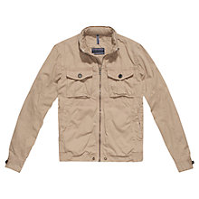 Buy Tommy Hilfiger Nate Alett Jacket, Batique Khaki Online at johnlewis.com